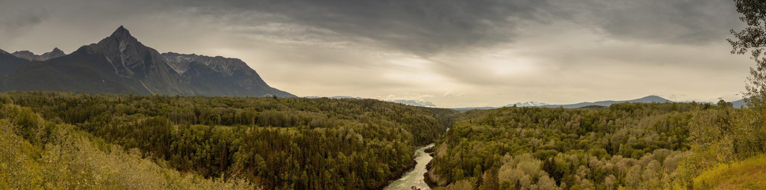 Страна реки мира, Британская Колумбия
